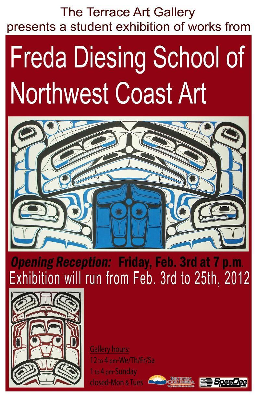 Terrace Art Gallery Poster