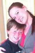 Katelyn Miles and son Ashton Schwindt